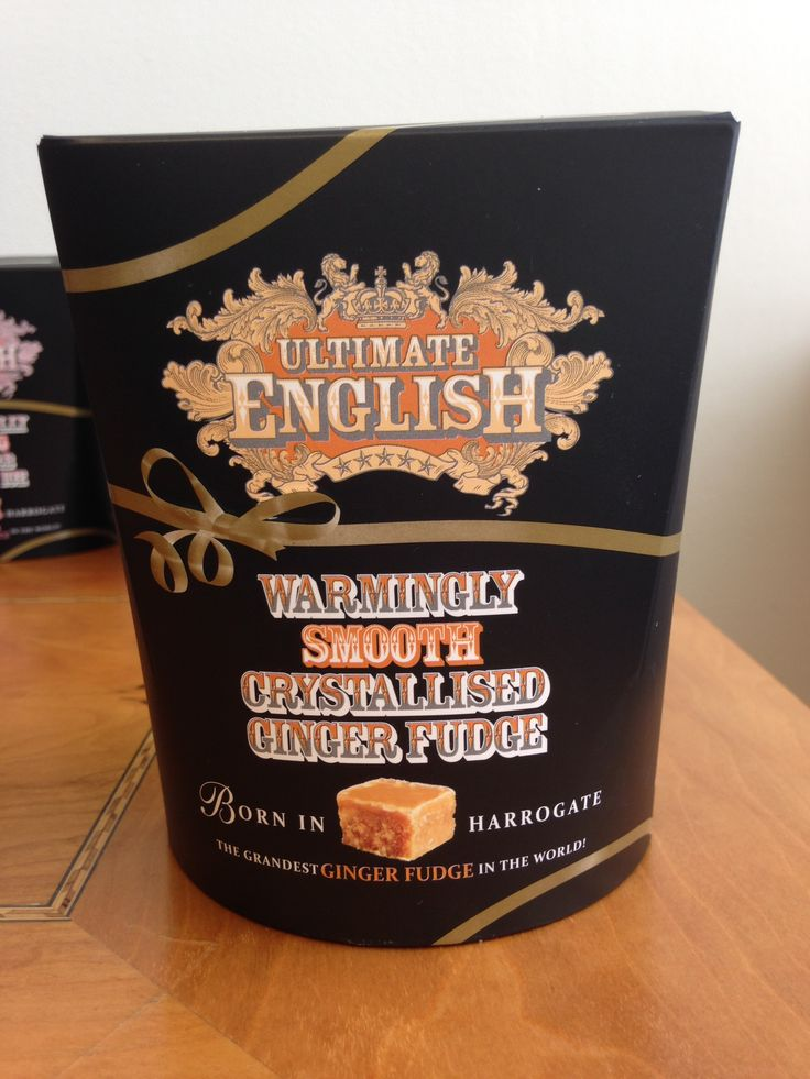 Our warmingly smooth crystallised ginger fudge