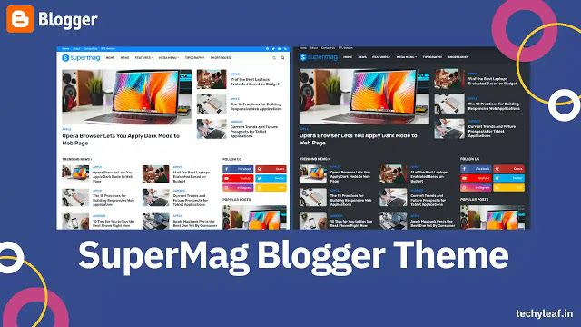 Supermag Responsive Premium Blogger Template With Seo Friendly Design Download Blogger Templates Blogger Themes Responsive Blogger Template