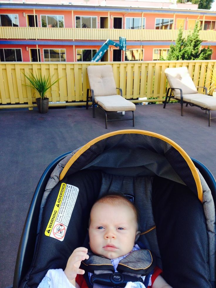 My son, Beck, looking over the construction progress.