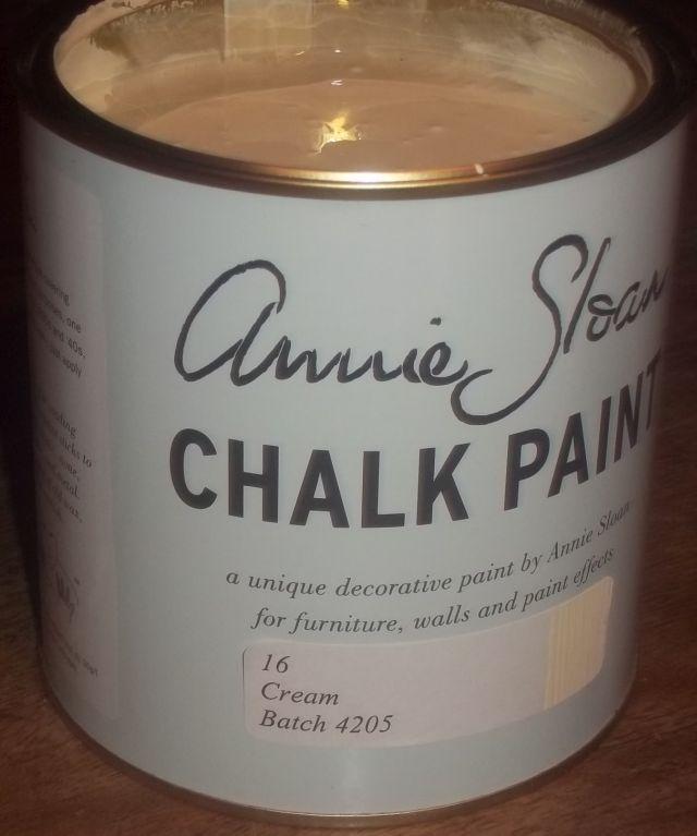Annie Sloan krijtverf Cream 1 liter