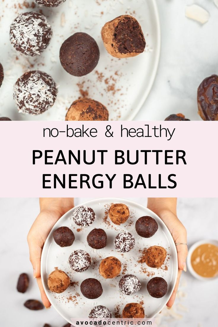 These peanut butter energy balls are so addicting, rich and also naturally sweetened. They are also healthy, quick, glut…