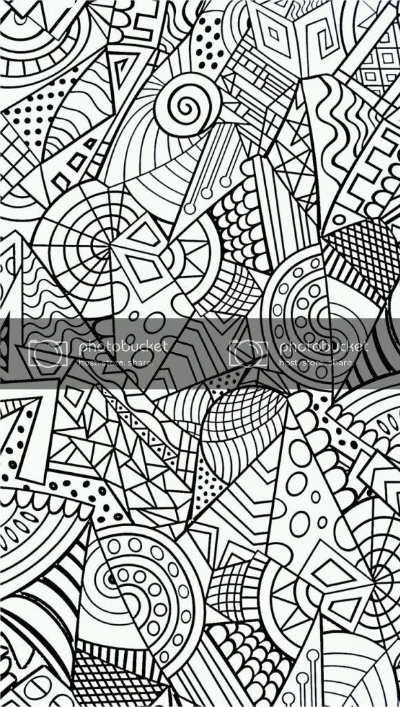 KleurplatenVoorVolwassenen Uploaded This Image To 'Abstract En Patronen'.  See The Album On … Antistress Coloring, Stress Coloring Book, Anti Stress Coloring  Book