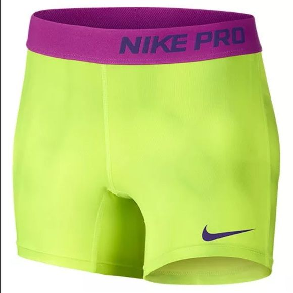 NEW WITH TAGS Nike Pro Compression Shorts Large NEW WITH TAGS Nike Pro Compression Shorts girls Large! Nike pro shorts run small. Workout shorts. ✨I accept reasonable offers✨ Nike Shorts