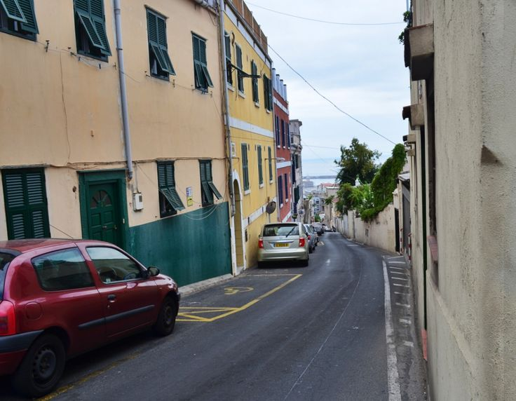 Narrow Streets in Gibraltar   SkyTravelr