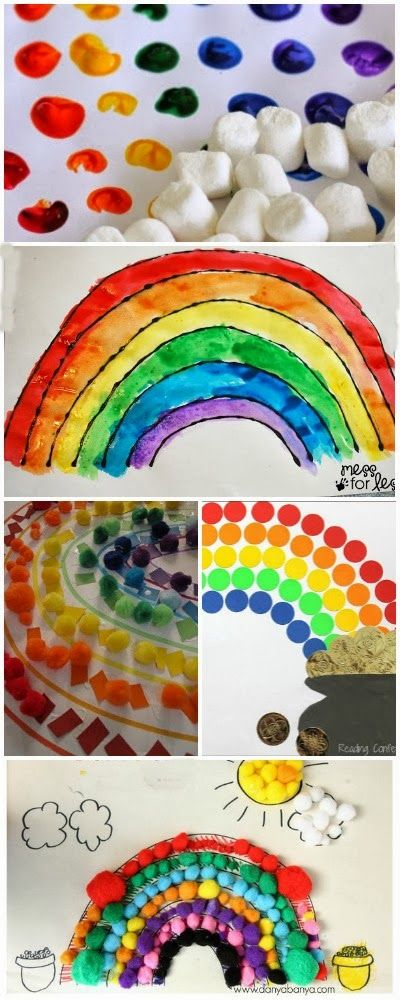 15 rainbow crafts for kids