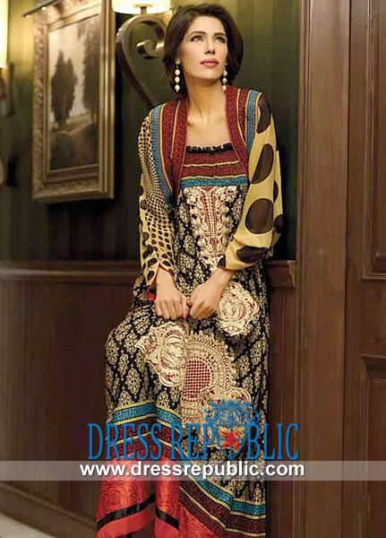 Style DRP1030 - DRP1030, Eid Lawn Collection 2013 For Women by www.dressrepublic.com