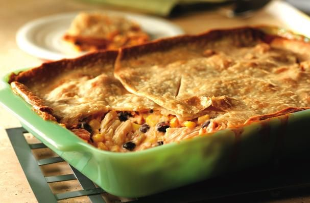 Foodista | Recipes, Cooking Tips, and Food News | Fiesta Chicken Casserole