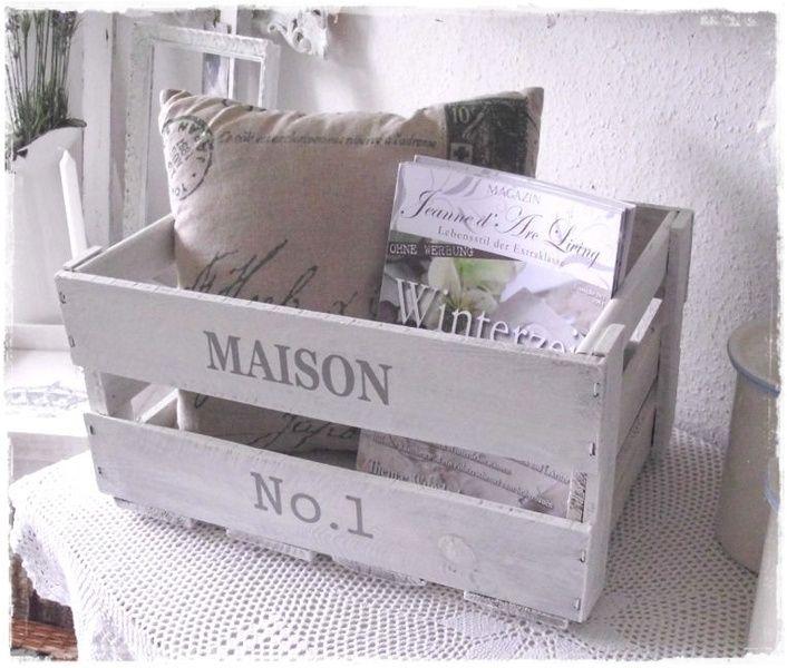 ~ ~ Shabby wine box