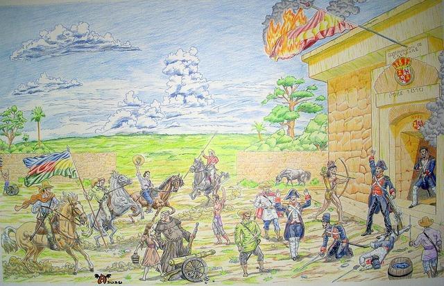 ¡Rebelión en Casanare! 1810, Arte final, via Flickr.
