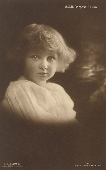 Princess Ileana of Romania Gallery / A.S.R. Prinţesa Ileana Postcard