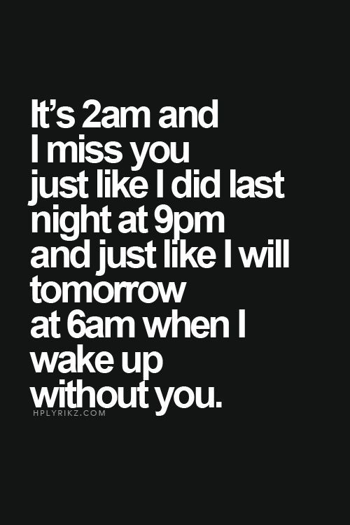 I Miss You Baby Quotes For Him