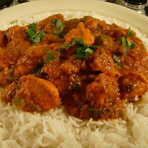 quick and easy chicken Madras recipe, hot and spicy, and made using ...