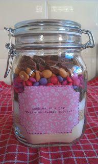 2suskes: DIY cookies in a jar!