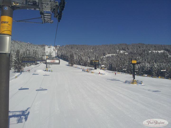 Tatry zima - stok narciarski w marcu 2013 roku w Zakpanem