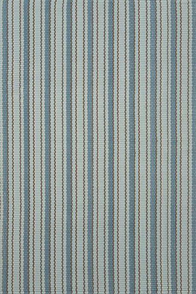Use as stair runner with Benjamin Moore Yarmouth blue (hc-150) on walls #DashAndAlbert Gunnison Indoor/Outdoor Rug