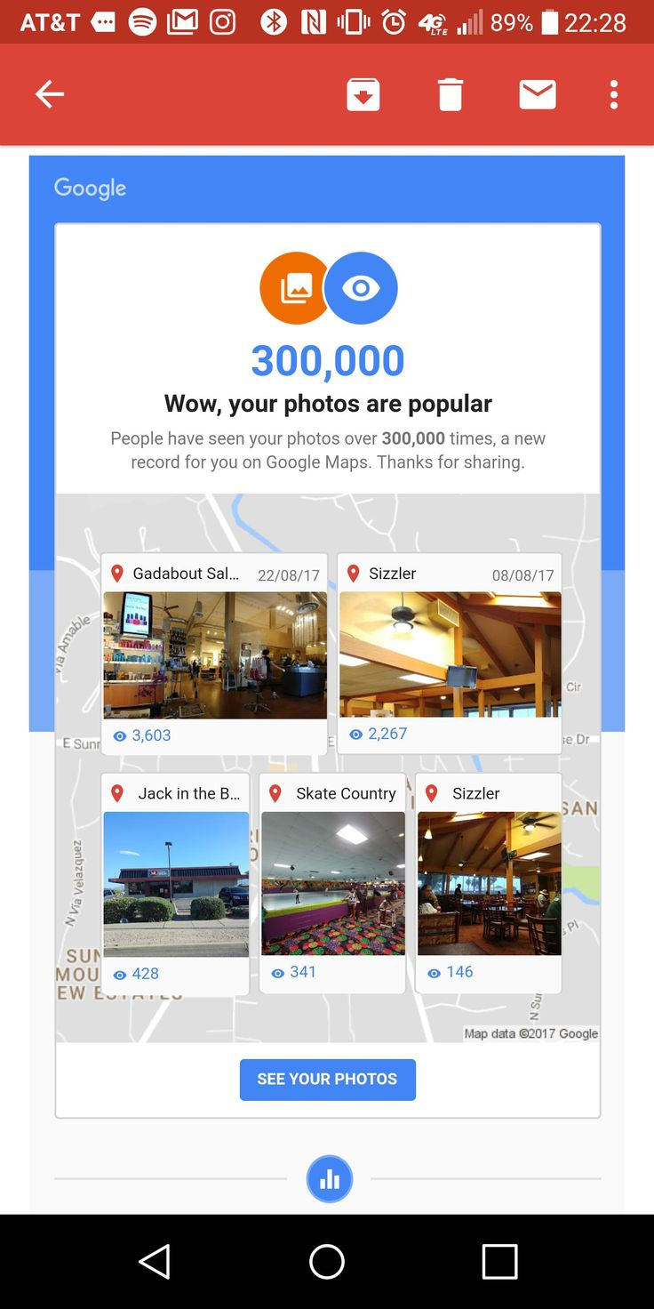 [Image] Whenever I feel insignificant I look at how many people I've helped with pictures for Google maps http://bit.ly/2mvUxoF #motivation