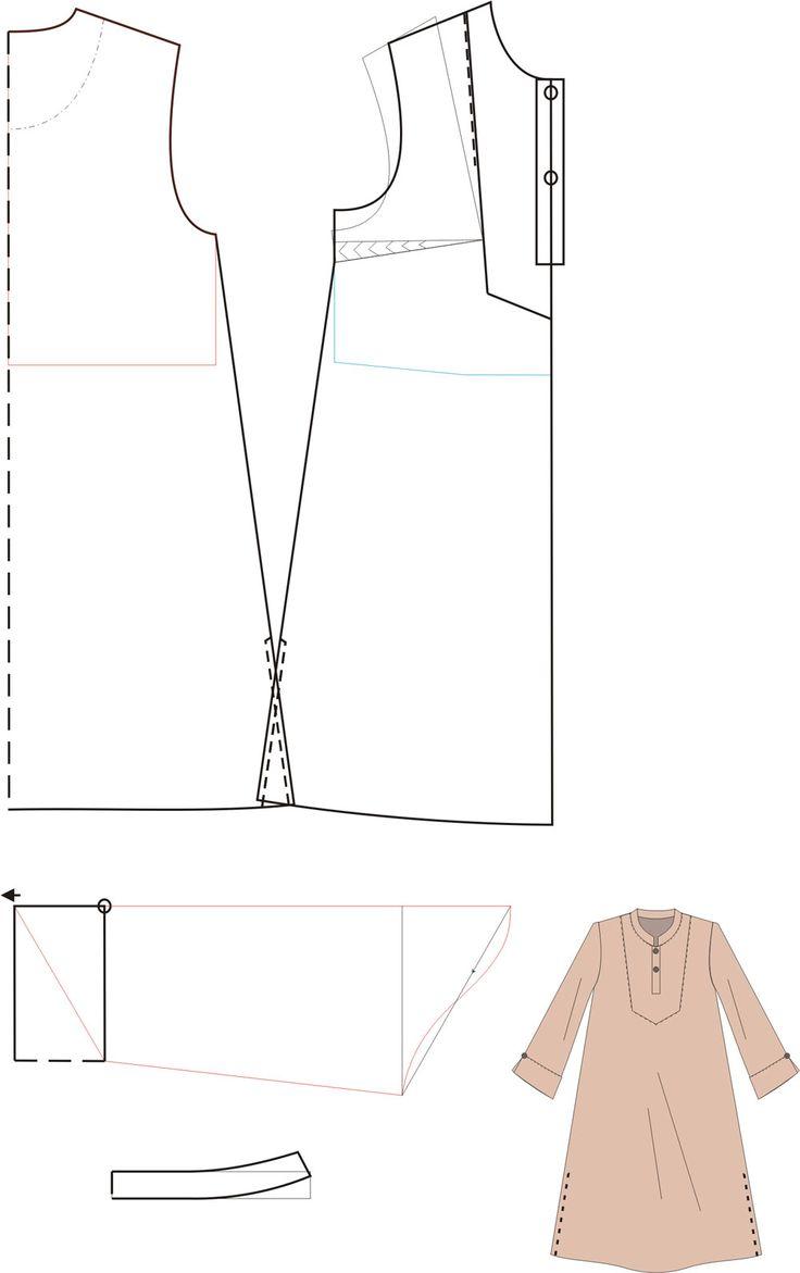 Lalamakan Craft menawarkan dua opsi pembuatan pola busana yakni pertama opsi pola jadi (siap pakai), pola ini berukuran sebenarnya (real si...