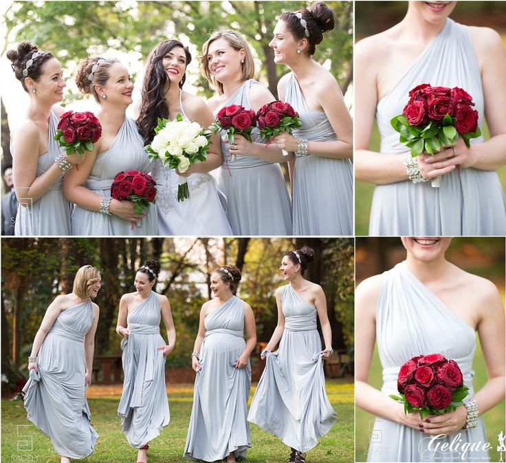 Gelique bridesmaids dresses  Ruan & Anica  Kleinkaap - Sagely Photography