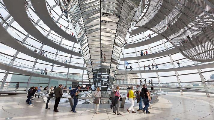 Kuppel Reichstagsgebäude besuchen