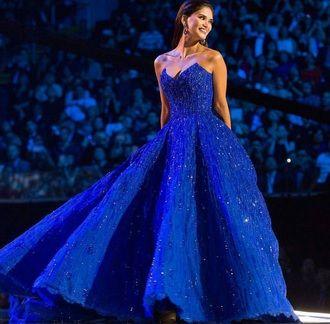 Vestido Miss Universo vestido vestido princesa vestido azul azul vestido de baile azul vestido longo vestido de brilho sem alças vestido de brilho vestido preto vestido de formatura de prata vestido de formatura baile de formatura baile de formatura longo vestido de baile vestido sexy sexy vestido de rua quente e elegante luxo extravagante