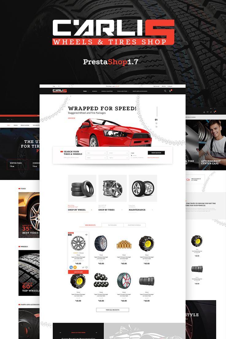 Carlis - Wheels & Tires Shop PrestaShop Theme Big Screenshot