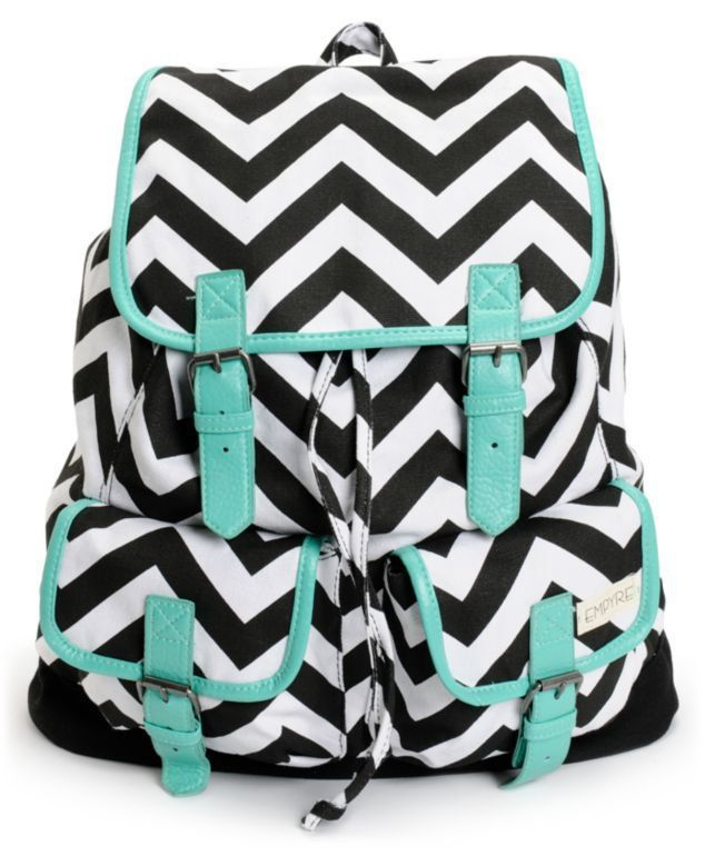 chevron back pack adorable