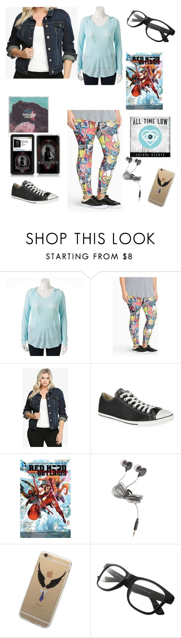 """Going To Snow Tomorrow"" by chrissy-cdm ❤ liked on Polyvore featuring SO, Torrid and Converse"