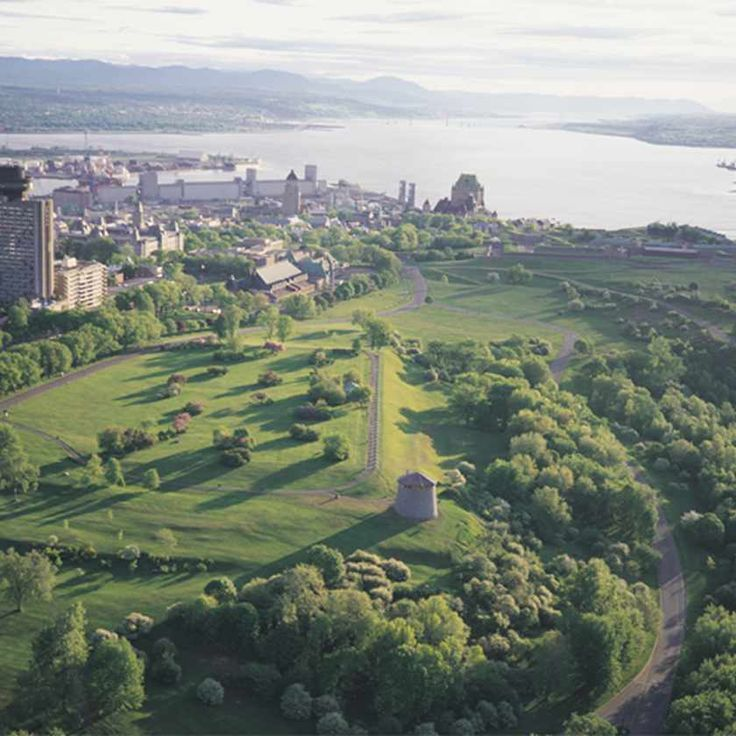 Plains of Abraham    Credit:  Luc-Antoine Couturier  Plains of Abraham are the heart and lungs of Québec City