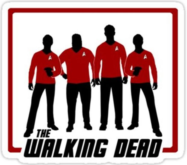 Red red we r the walking dead First to fry, choke, drown and die Writers way our name is Fred  We do stupid shit, don't wonder why