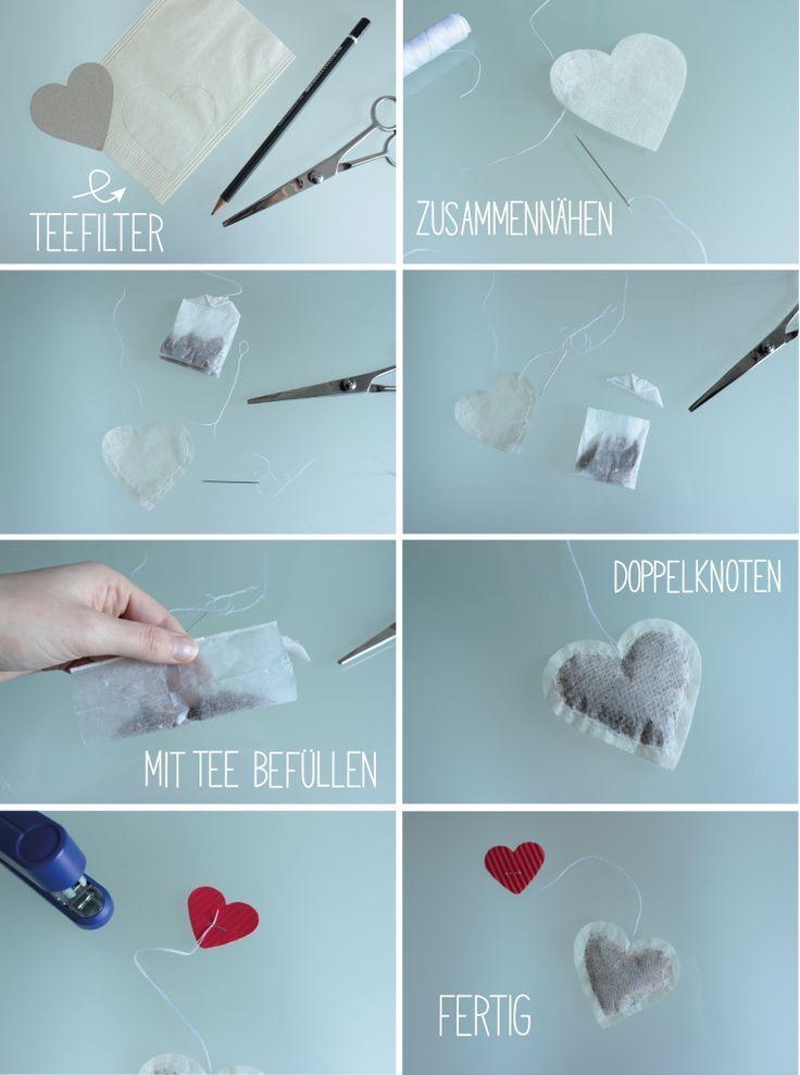 DIY Teebeutel selber machen