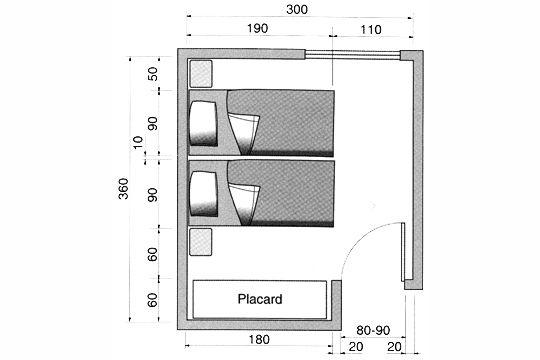 plan chambre o mettre le lit dans la chambre bureaux. Black Bedroom Furniture Sets. Home Design Ideas