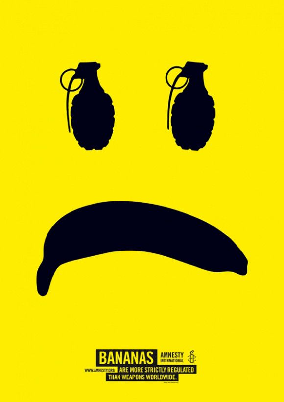 Fons Hickmann M23′s powerful posters for Amnesty | Desktop