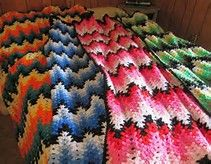 17 Best Images About Lacy Chevron Afghan On Pinterest
