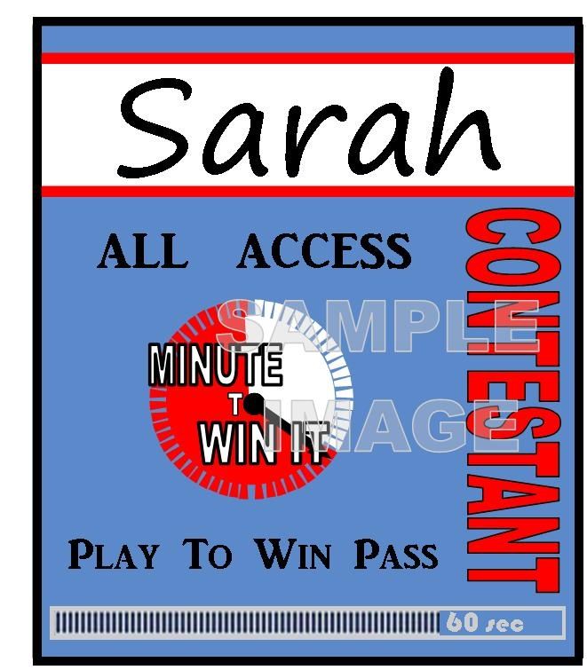 Minute to Win It Party Supplies, Printables, and ...