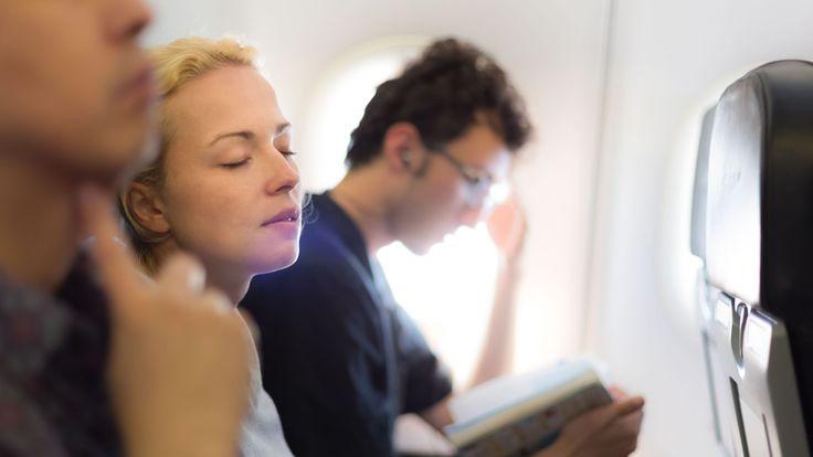 No pierdas la paciencia durante los vuelos largos