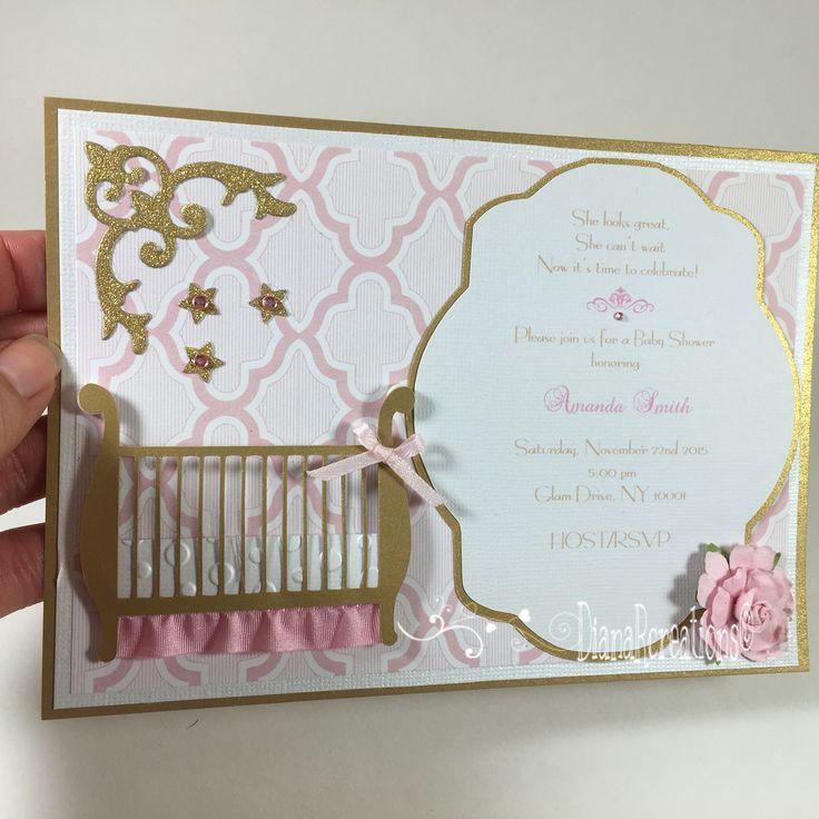 boy baby shower invitations australia%0A Vintage glam baby shower invitations