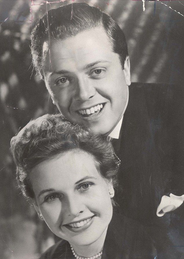 Lord Attenborough pictured with his wife, actress Sheila Sim, in Agatha Christie's The Mou...