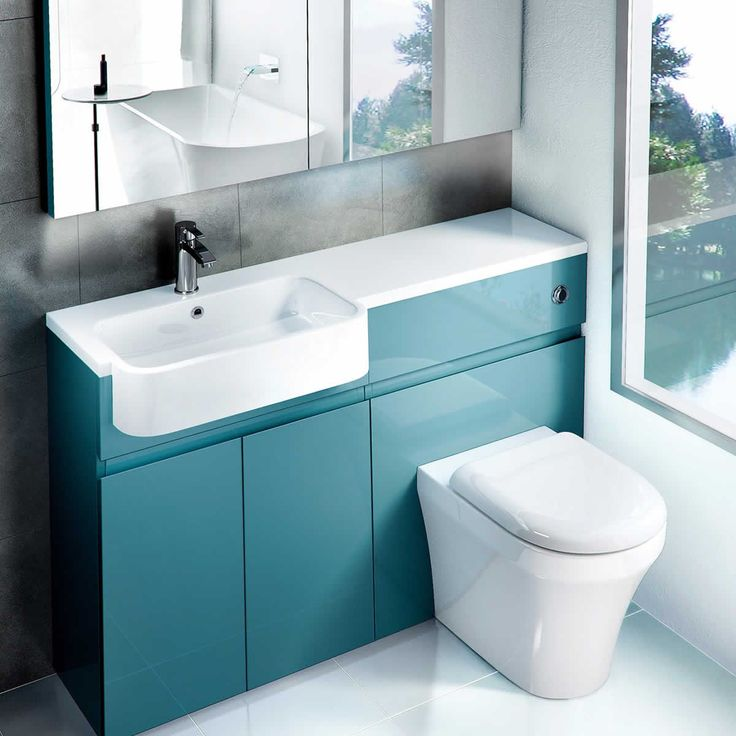 Aqua Cabinets D300 Quattrocast Basins : ukBathrooms