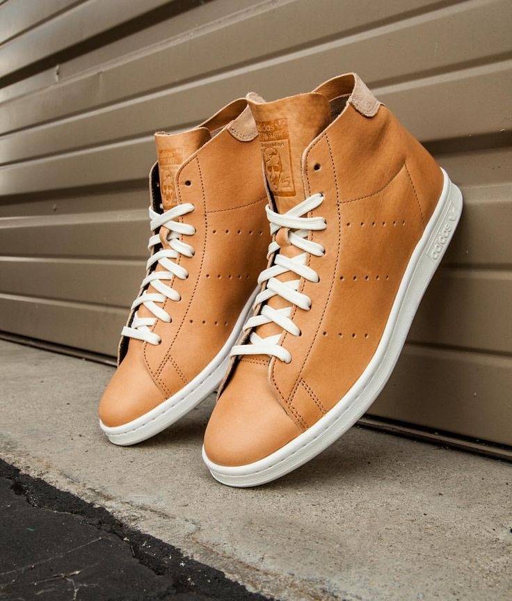 adidas Originals Stan Smith High Top Horween Leather Pack