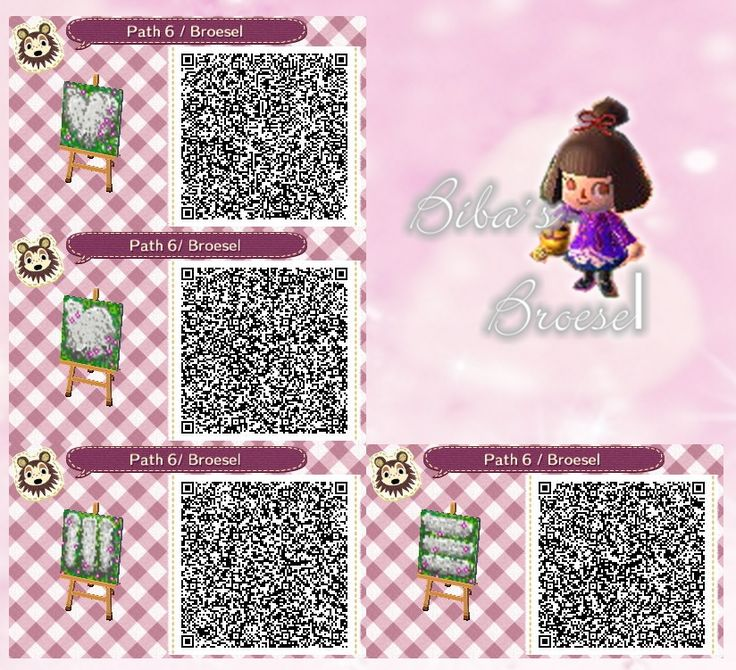 Spring path , Frühling Weg , Code , qr , ACNL , Broesel , Animal Crossing