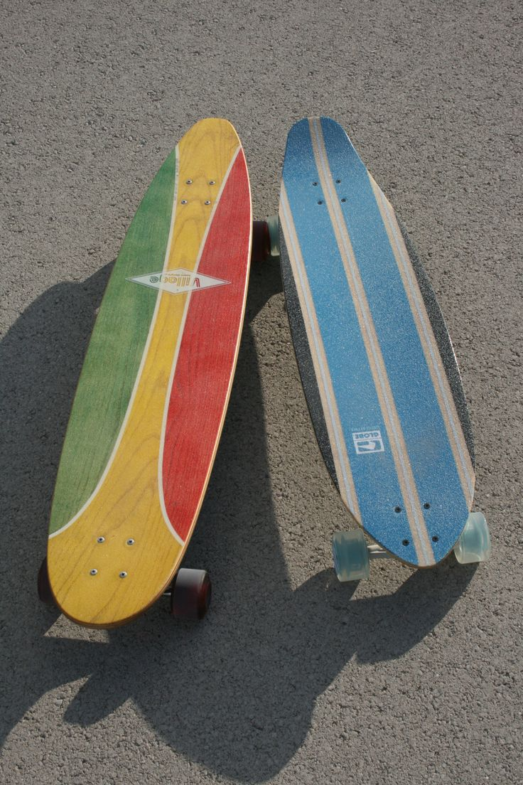 "Village board design longboard & globe-fairlane 38"" longboard"