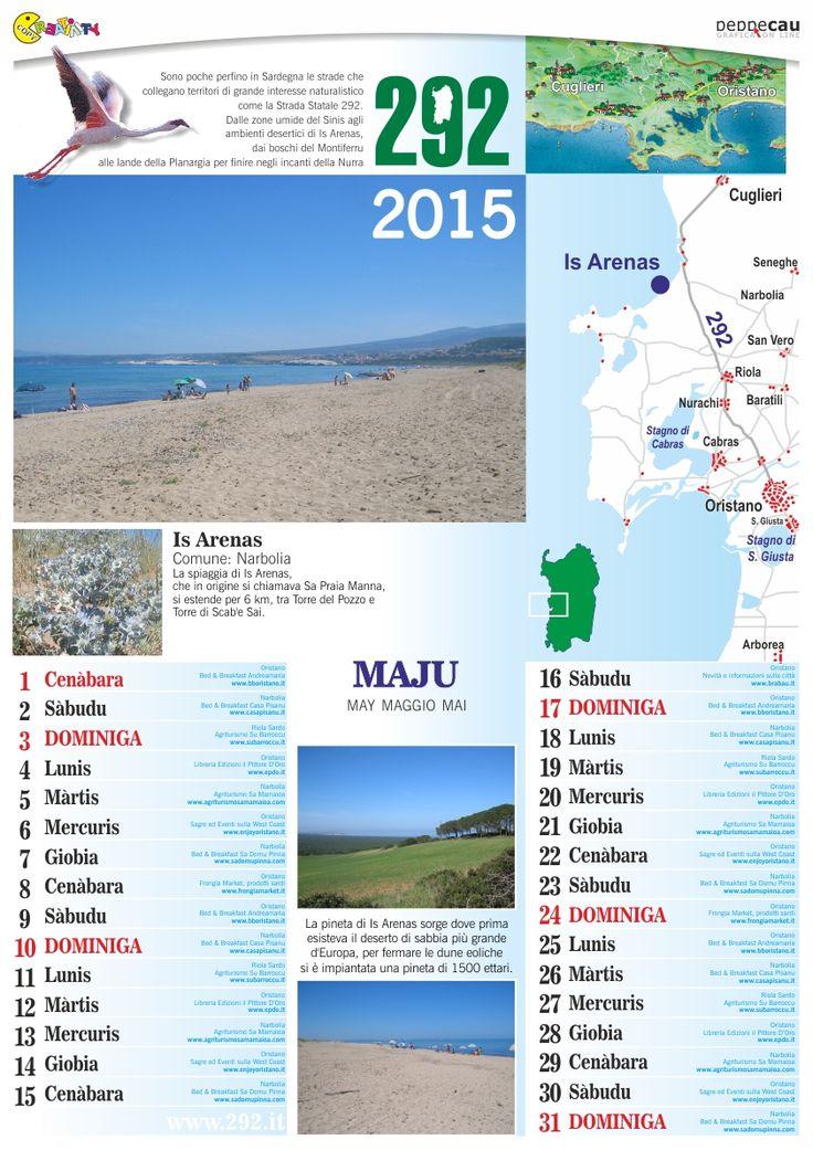 Maggio del Calendario 2015 Sardo è scaricabile GRATIS. http://www.ecau.it/2015/maggio/ Si cercano Aziende che vogliono comparire su Giugno...