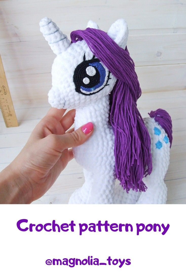 Crochet pony Free Pattern – How to Crochet | 1102x735