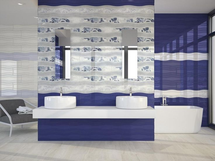 http://www.drissimm.com/wp-content/uploads/2015/02/stunning-blue-bathroom-interior-design-with-floral-wallpaper-beside-rectangular-mirror-wall-mounted-plus-floating-vanity-double-sink-plus-white-blue-glossy-paint-wall-beside-bathtub.jpg