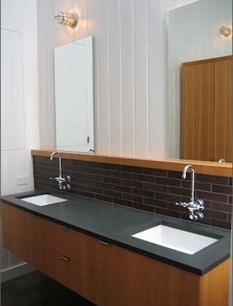 Slate Bathroom Countertop