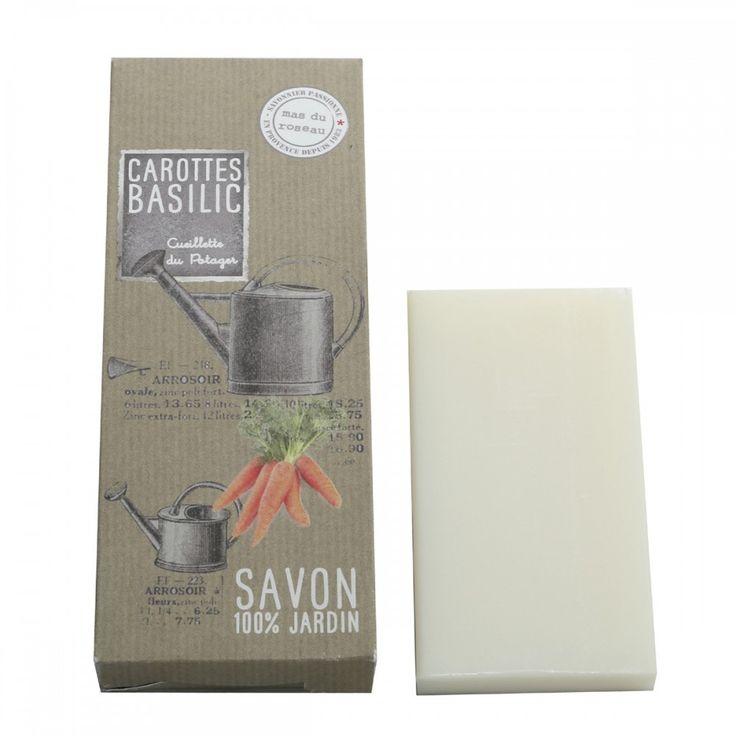 Carrot and basil soap - merci Quincaillerie \ Papier peints