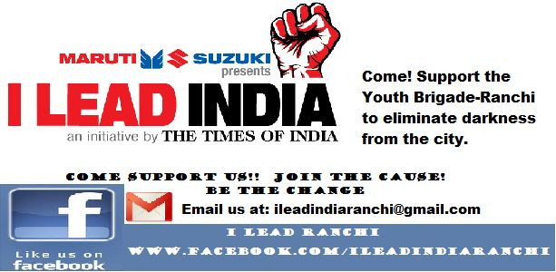 SUPPORT The Youth Brigade to eliminate darkness from our city