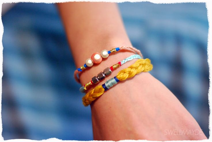 how to make a braided anklet