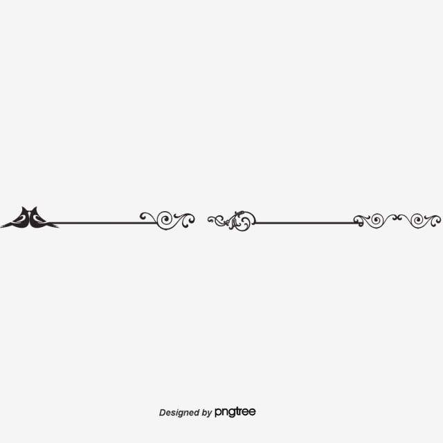 Fantasy Pattern Dividing Line Theme Dividers Instagram Book Cover Artwork Doodle Frame
