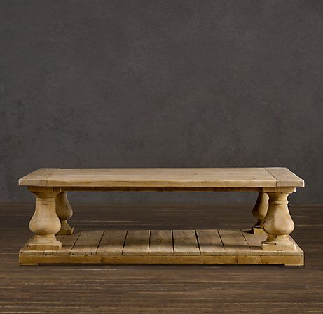 Restoration Hardware table love it!  Gonna try to make my own version!